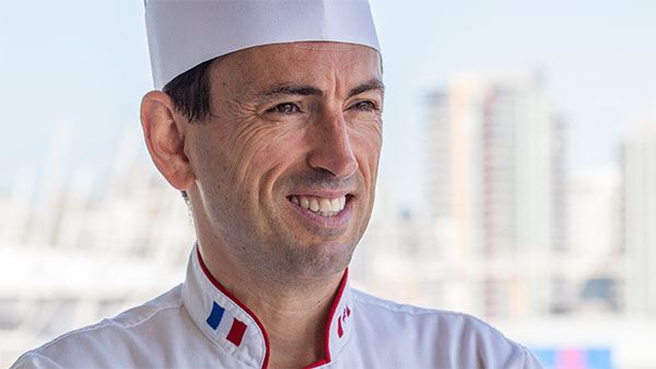 Chef Eric Arrouze - Portrait