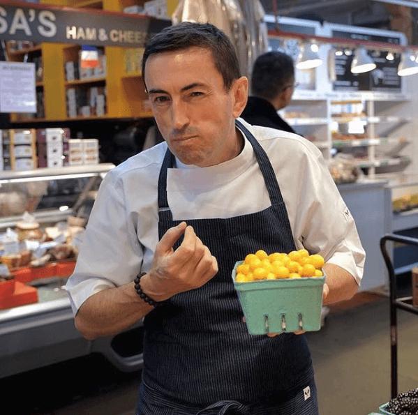 Chef Eric Arrouze, restaurant consultant