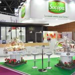 Booth at food show SIRHA